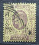 Poštovní známka Velká Británie 1902 Král Edward VII. Mi# 108 A