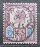 Poštovní známka Velká Británie 1902 Král Edward VII. Mi# 110 A Kat 8€