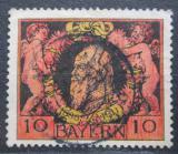 Poštovní známka Bavorsko 1911 Luitpold Bavorský Mi# 93 A