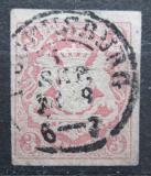 Poštovní známka Bavorsko 1867 Státní znak Mi# 15 Kat 10€