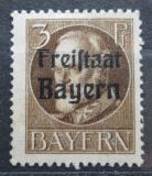 Poštovní známka Bavorsko 1919 Král Ludvík III. přetisk Mi# 152 A