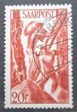 Poštovní známka Sársko 1948 Stavební dělníci Mi# 250