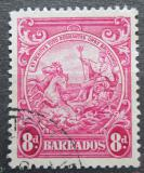Poštovní známka Barbados 1946 Symbol kolonie Mi# 166 A 2.50€