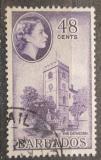 Poštovní známka Barbados 1956 Katedrála Mi# 212