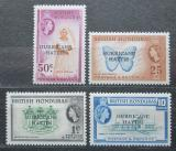 Poštovní známky Britský Honduras, Belize 1962 Hurikán Hattie Mi# 160-63