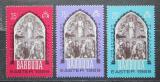 Poštovní známky Barbuda 1969 Velikonoce, umění Mi# 32-34