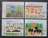 Poštovní známky S.A.E. 1995 Dětské kresby Mi# 490-93