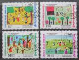 Poštovní známky S.A.E. 1994 Dětské kresby Mi# 437-40