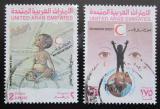 Poštovní známky S.A.E. 1990 Červený půlměsíc Mi# 306-07
