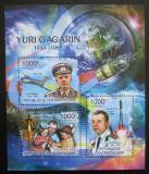 Poštovní známky SAR 2011 Jurij Gagarin Mi# Mi# 3108-10 Kat 12€