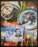 Poštovní známka SAR 2011 Jurij Gagarin Mi# Mi# Block 735 Kat 11€