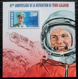 Poštovní známka Niger 2013 Jurij Gagarin Mi# Block 212 Kat 10€