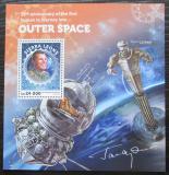 Poštovní známka Sierra Leone 2016 Jurij Gagarin Mi# Block 973 Kat 11€