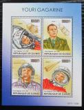 Poštovní známky Guinea 2015 Jurij Gagarin Mi# 11368-71 Kat 16€