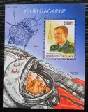 Poštovní známka Guinea 2015 Jurij Gagarin Mi# Block 2570 Kat 14€