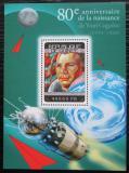 Poštovní známka Guinea 2014 Jurij Gagarin Mi# Block 2384 Kat 16€