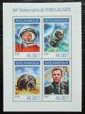 Poštovní známky Mosambik 2014 Jurij Gagarin Mi# 7140-43 Kat 11€