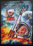 Poštovní známka Mosambik 2014 Jurij Gagarin Mi# Block 868 Kat 10€