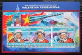 Poštovní známky Guinea 2013 Valentina Těreškovová Mi# 10161-63 Kat 18€