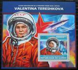 Poštovní známka Guinea 2013 Valentina Těreškovová Mi# Block 2317 Kat 16€