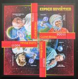 Poštovní známky Guinea-Bissau 2012 Sovětský průzkum vesmíru Mi# 6312-15 Kat 14€
