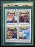 Poštovní známky Sierra Leone 2016 Plachetnice, Kolumbus Mi# 7813-16 Kat 11€