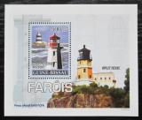 Poštovní známka Guinea-Bissau 2008 Majáky DELUXE Mi# 3723 Block