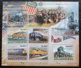 Poštovní známky Mosambik 2012 Lokomotivy Mi# 6090-95 Kat 14€