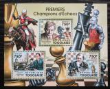 Poštovní známky Togo 2011 Světoví šachisti Mi# 4009-12 Kat 12€