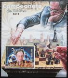 Poštovní známka Guinea-Bissau 2012 Slavní šachisti Mi# Block 1079 Kat 12€