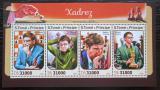 Poštovní známky Svatý Tomáš 2016 Slavní šachisti Mi# 6901-04 Kat 12€