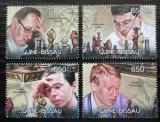 Poštovní známky Guinea-Bissau 2012 Slavní šachisti Mi# 6082-85 Kat 10€