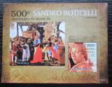 Poštovní známka Svatý Tomáš 2010 Umění, Sandro Botticelli Mi# Block 784 Kat 12€