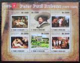 Poštovní známky Svatý Tomáš 2010 Umění, Peter Paul Rubens Mi# 4334-39 Kat 12€