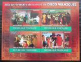 Poštovní známky Togo 2010 Umění, Diego Velázquez Mi# 3494-97 Kat 12€