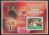 Poštovní známka Togo 2010 Umění, Diego Velázquez Mi# Block 510 Kat 12€