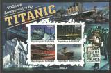 Poštovní známky Burundi 2011 Titanic neperf. Mi# Block 176 B Kat 19€