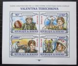Poštovní známky Burundi 2013 Valentina Těreškovová Mi# 3123-26 Kat 8.90€
