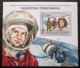 Poštovní známka Burundi 2013 Valentina Těreškovová Mi# Block 349 Kat 9€