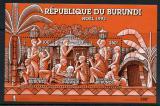 Poštovní známky Burundi 1993 Vánoce Mi# Block 135 Kat 7.50€