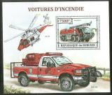 Poštovní známka Burundi 2013 Hasičská technika Mi# Block 384 Kat 9€