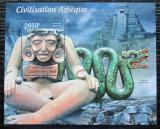 Poštovní známka SAR 2012 Aztécká kultura Mi# Block 925 Kat 12€