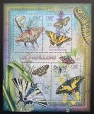 Poštovní známky SAR 2012 Motýli Mi# 3622-25 Kat 14€