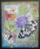 Poštovní známka SAR 2012 Motýli Mi# Block 940 Kat 12€