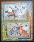 Poštovní známky SAR 2012 Domácí kočky Mi# 3642-45 Kat 14€
