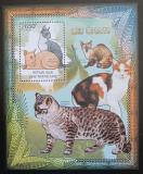 Poštovní známka SAR 2012 Domácí kočky Mi# Block 944 Kat 12€