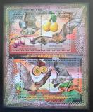 Poštovní známky SAR 2012 Netopýři a ovoce Mi# 3672-75 Kat 16€