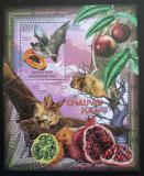Poštovní známka SAR 2012 Netopýři a ovoce Mi# Block 950 Kat 14€