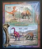 Poštovní známky SAR 2012 Dinosauři Mi# 3652-55 Kat 16€
