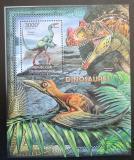 Poštovní známka SAR 2012 Dinosauři Mi# Block 946 Kat 14€
